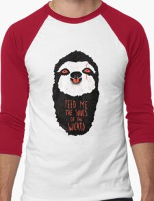 Evil Sloth Men's Baseball ¾ T-Shirt
