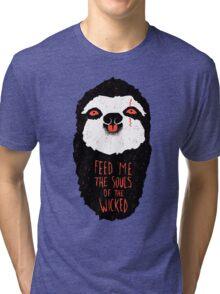 Evil Sloth Tri-blend T-Shirt
