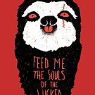 Evil Sloth by RonanLynam