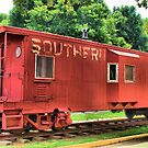 Southern Caboose by Janie Oliver
