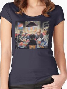 The Placebo Eaters Women's Fitted Scoop T-Shirt