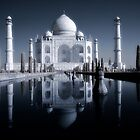 Taj Mahal, infra red. by James  Monk