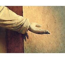 Reach out and touch faith  Photographic Print