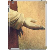 Reach out and touch faith  iPad Case/Skin