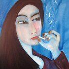 blue minty smoke by jiriki
