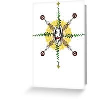 Fractal Infinity Greeting Card