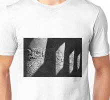 Walking in the steps of the gods.. Unisex T-Shirt
