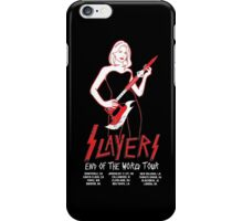 Slayers:End of the World Tour iPhone Case/Skin