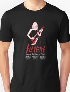Slayers:End of the World Tour Unisex T-Shirt