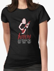 Slayers:End of the World Tour Womens Fitted T-Shirt
