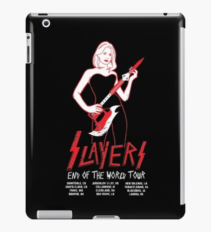 Slayers:End of the World Tour iPad Case/Skin