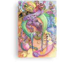 Goblin Empress of the dragons Canvas Print