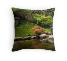 Love does.. Throw Pillow