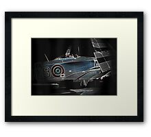 The Folding Aeroplane Framed Print