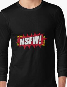 NSFW Long Sleeve T-Shirt