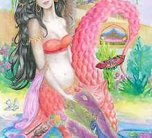 Spainish Mermaid  by Melissa Jade Edwards