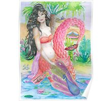 Spainish Mermaid  Poster