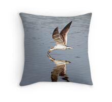 Morning Skimmer Throw Pillow