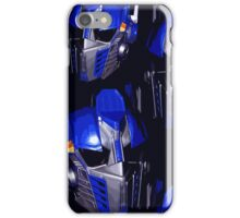 Optimus Prime Masks iPhone Case/Skin