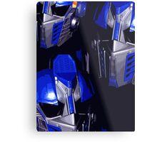 Optimus Prime Masks Metal Print