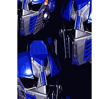 Optimus Prime Masks Photographic Print