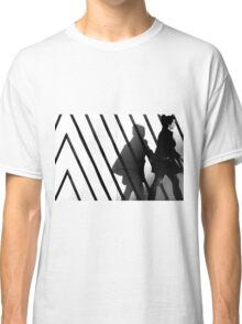 Walk the line Classic T-Shirt