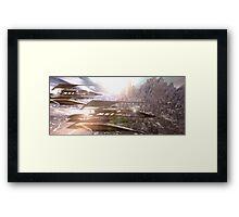 Alpha-Lima-Seven-Seven Framed Print