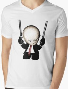 Agent 47 - Hitman Mens V-Neck T-Shirt