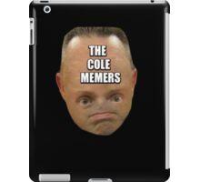 THE COLE MEMERS LOGO iPad Case/Skin