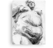 Big Mama (Saville Study) Canvas Print