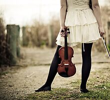 Violinist Standoff by Reynandi Susanto