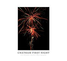 Chatham First Night Poster (Chatham, Cape Cod) Photographic Print