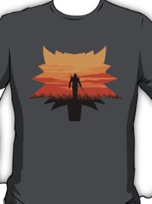 The White wolf (The Witcher) T-Shirt