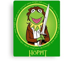 The Hoppit Canvas Print