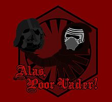 Alas, Poor Vader! (w/ text) by PaulMonj