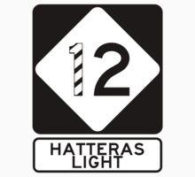 NC 12 - Hatteras Light Baby Tee