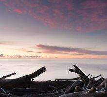 Pastel Sunset over Opau Bay by Brendon Doran