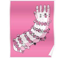 Bracelets and trinkets - pink Poster