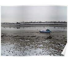 The River Crouch, Hullbridge, Essex Poster