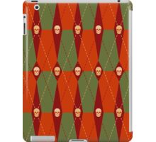 Coffin Plaid Red iPad Case/Skin