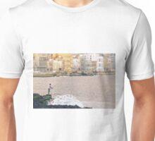 Fishing along the Malecon Unisex T-Shirt