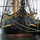 "Bow of the ""HMS Bounty""   (replica) by MaryinMaine"