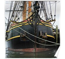 "Bow of the ""HMS Bounty""   (replica) Poster"