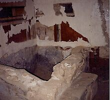 Israel - Masada - the private bath house by Shulie1
