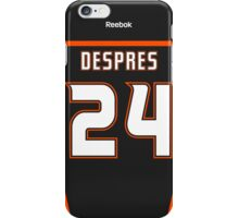 Anaheim Ducks Simon Després Jersey Back Phone Case iPhone Case/Skin