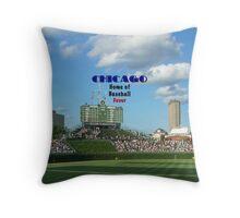 Cubs Baseball Throw Pillow