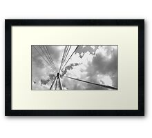 London Sky Architecture Framed Print