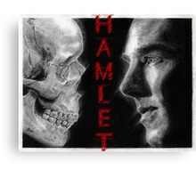 To be, or not to be... Hamlet Version II Canvas Print