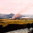 Burning Fields - Innisfail by Cary McAulay