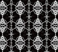 Ethnic pattern with Navajo motifs by tukkki
